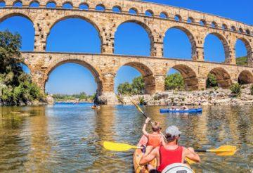 Canôe kayak en Provence